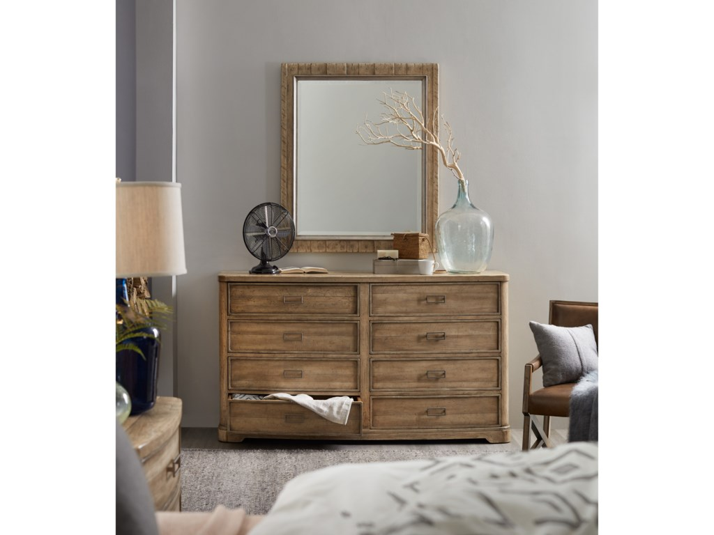 Hooker Furniture American Life-Urban ElevationEight-Drawer Dresser