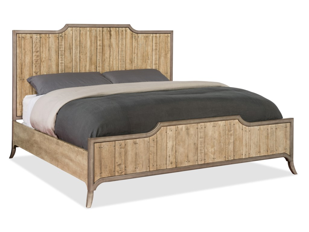 Hooker Furniture American Life-Urban ElevationKing Wood Panel Bed