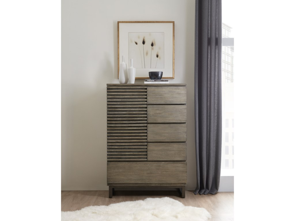 Hooker Furniture AnnexDoor/Drawer Asymmetrical Chest