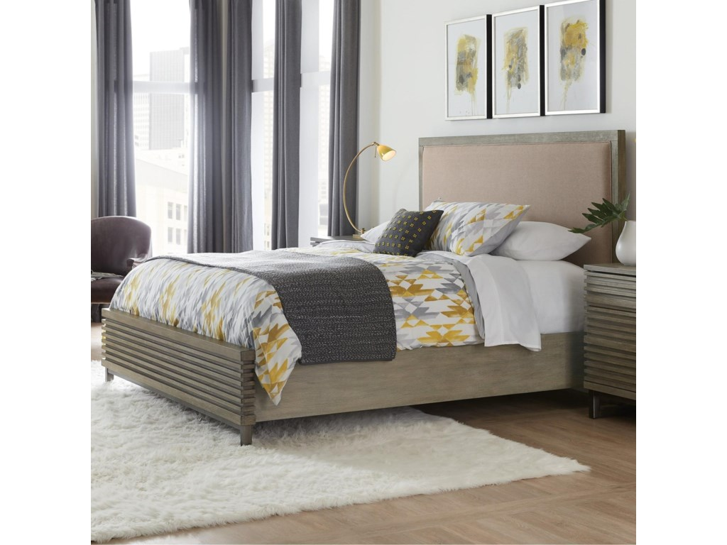 Hooker Furniture AnnexQueen Platform Upholstered Panel Bed