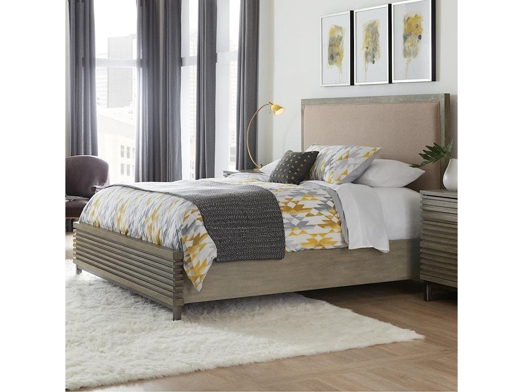 Hooker Furniture AnnexKing Platform Upholstered Panel Bed