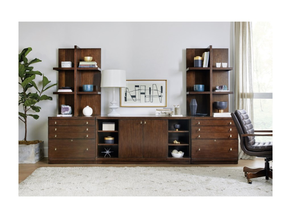 Hooker Furniture ApprenticeLateral File & Console Hutch