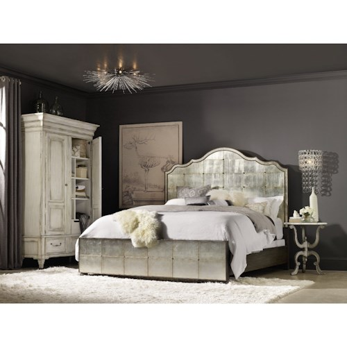 Hooker Furniture Arabella King Bedroom Group