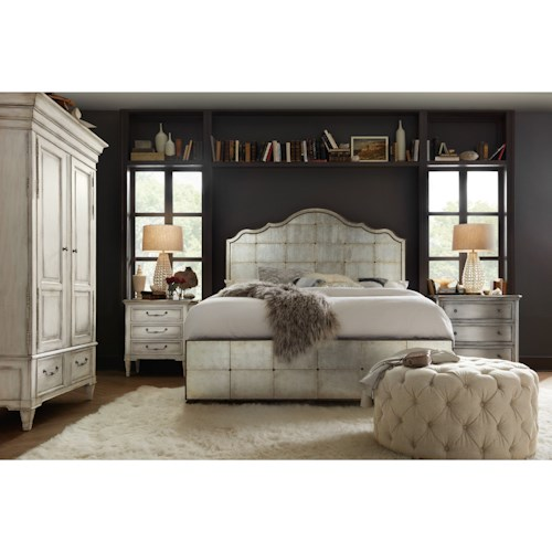 Hooker Furniture Arabella California King Bedroom Group