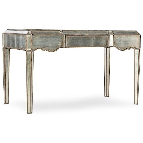 Hooker Furniture Arabella Mirrored Writing Desk