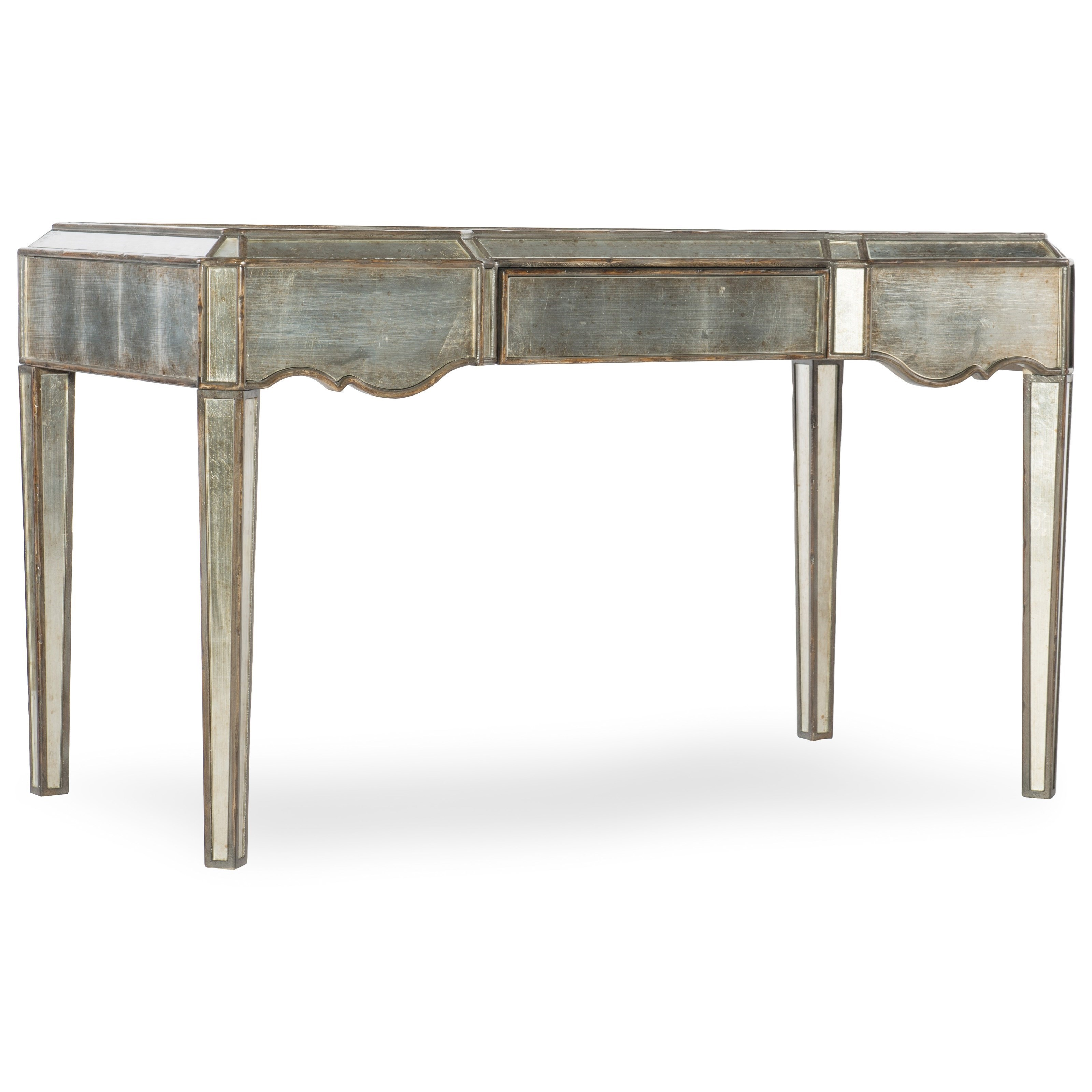 Gentil Hooker Furniture ArabellaMirrored Writing Desk ...