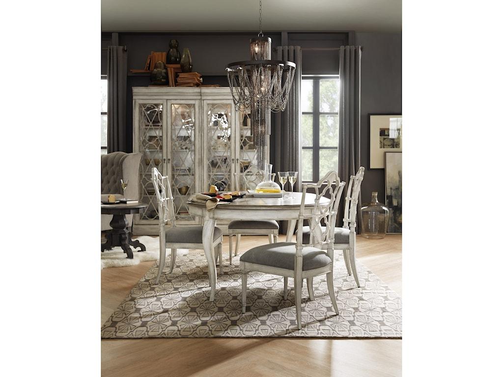 Hooker Furniture ArabellaBunching Display Cabinet