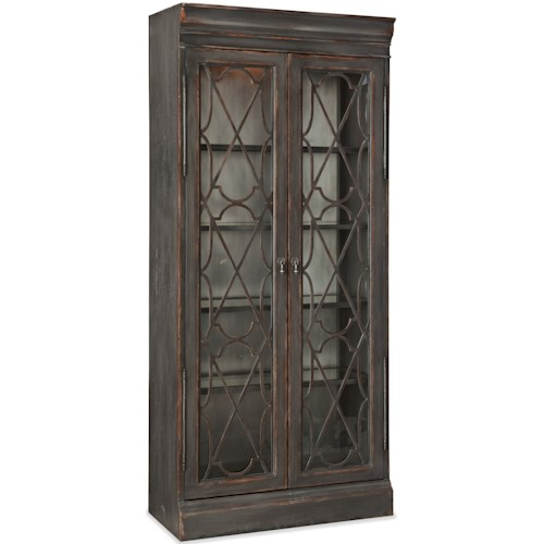 Hooker Furniture Arabella Bunching Display Cabinet with Lighting