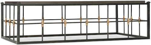 Hooker Furniture Arabella Metal Frame Cocktail Table