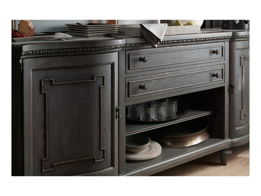 Hooker Furniture ArabellaTwo-Door Two-Drawer Credenza