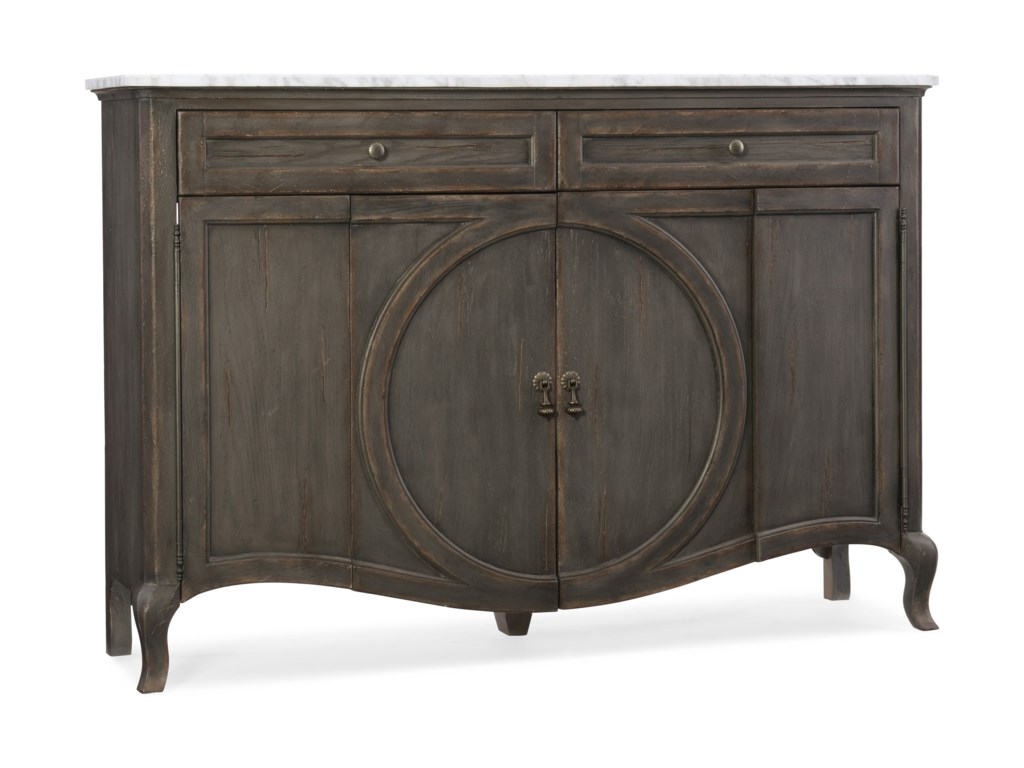 Hooker Furniture ArabellaMarble Top Credenza