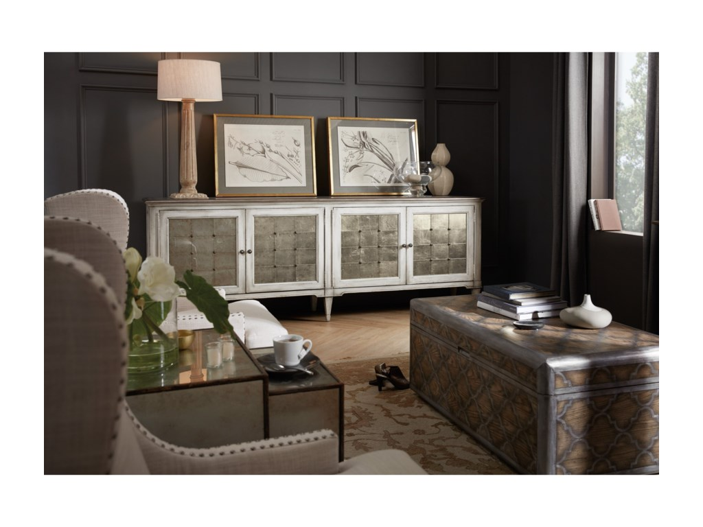 Hooker Furniture ArabellaFour-Door Credenza