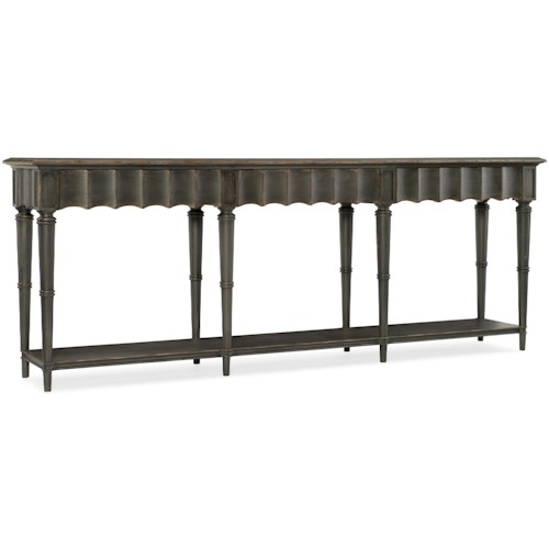 Hooker Furniture Arabella Hall Console with Concave Drawer Fronts