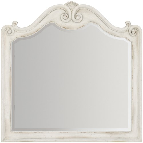 Hooker Furniture Arabella Mirror with Scroll Frame