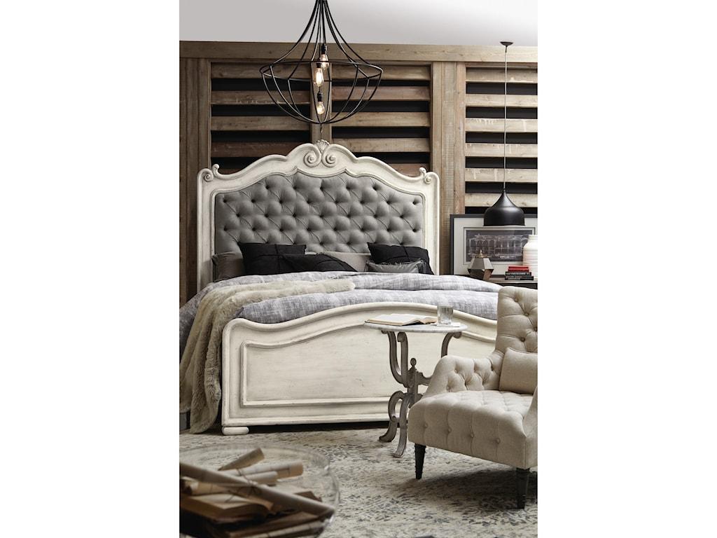 Hooker Furniture ArabellaKing Upholstered Panel Bed
