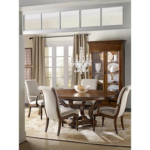 Hamilton Home Sentinel: Pecan Formal Dining Room Group