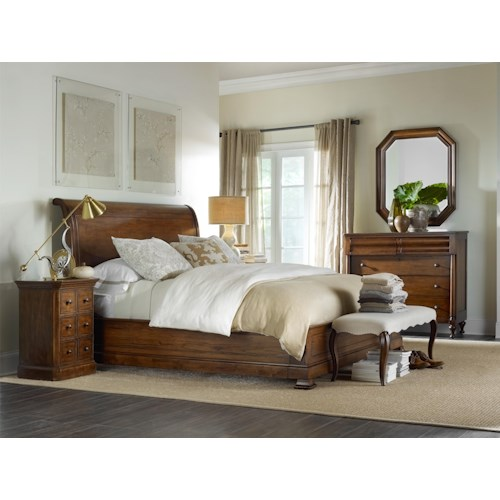 Hooker Furniture Archivist King Bedroom Group