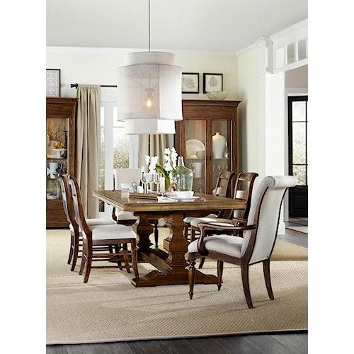 Hooker Furniture Archivist Formal Dining Room Group