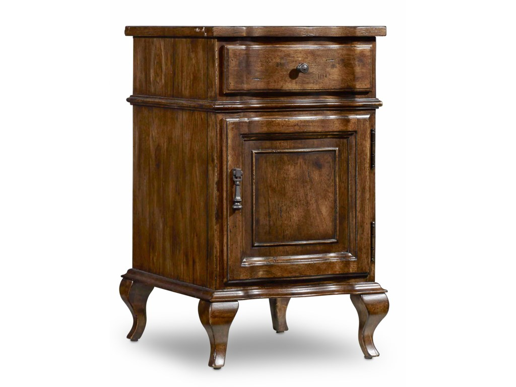 Hooker Furniture ArchivistAccent Chairside Chest