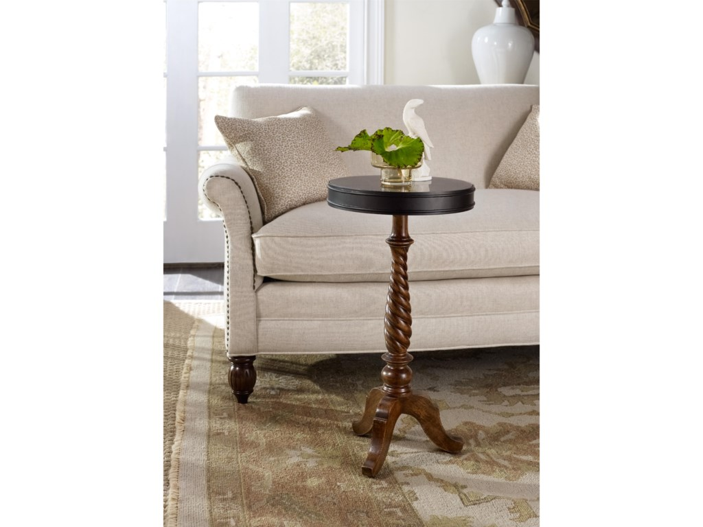 Hooker Furniture ArchivistCandlestick Pedestal Table