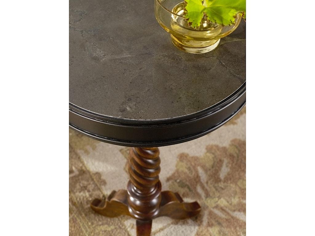 Hooker Furniture ArchivistCandlestick Pedestal Table