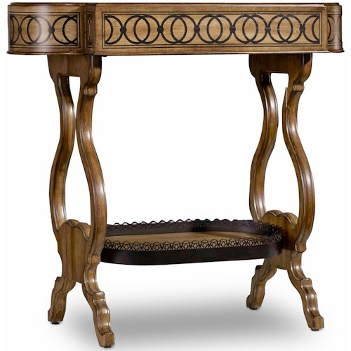 Hooker Furniture Archivist Accent End Table with Tray Top