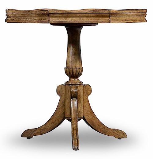 Hooker Furniture Archivist Pie Crust Martini Table