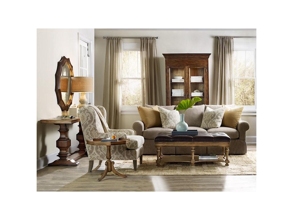 Hooker Furniture ArchivistPie Crust Martini Table