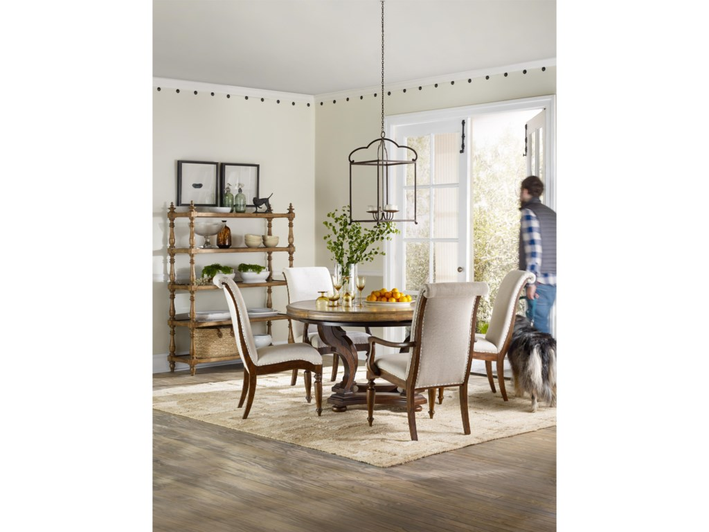 Hooker Furniture Archivist54in Round Dining Table