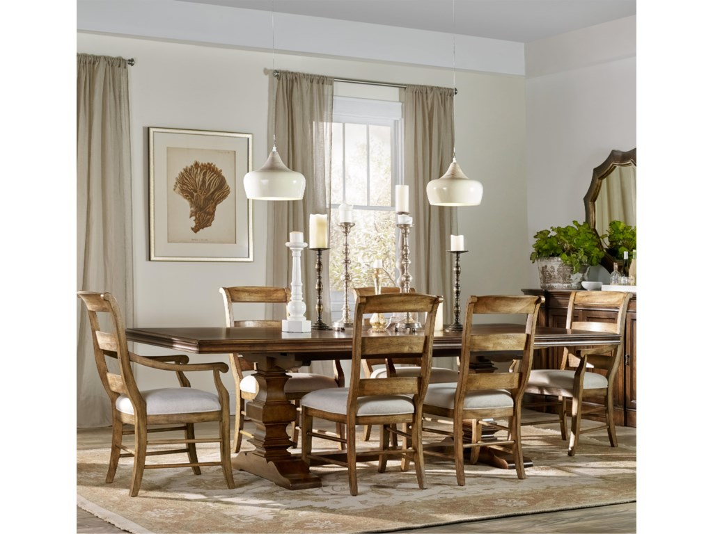 Hooker Furniture Archivist7 Piece Dining Set