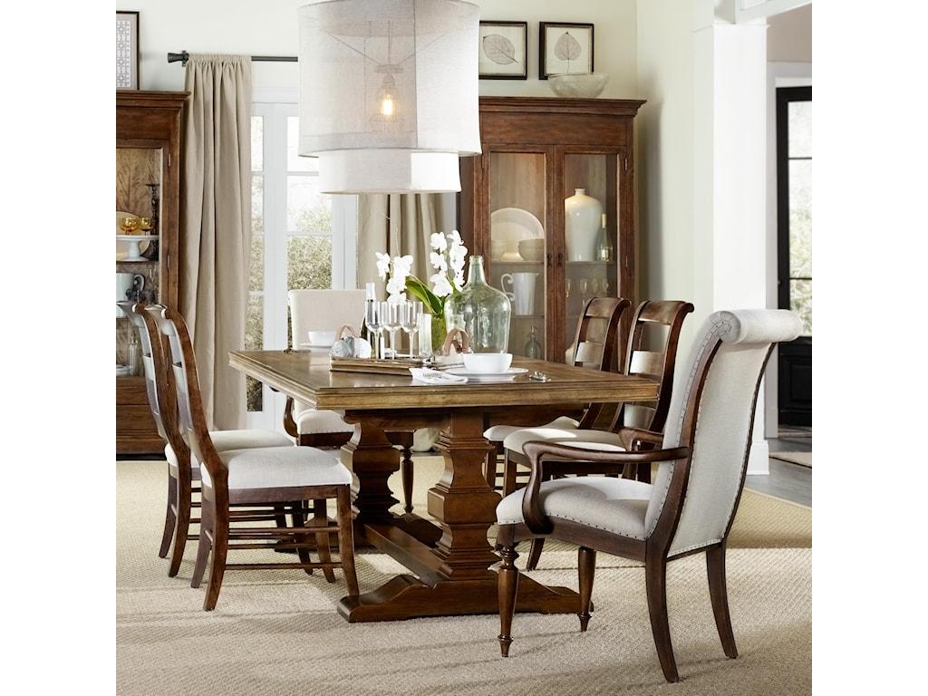 Hooker Furniture Archivist7 Piece Dining Set