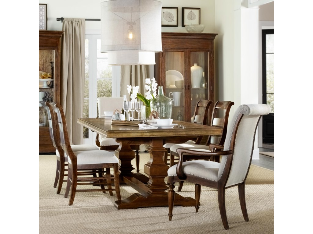 Stunning hooker dining room sets images for R way dining room furniture