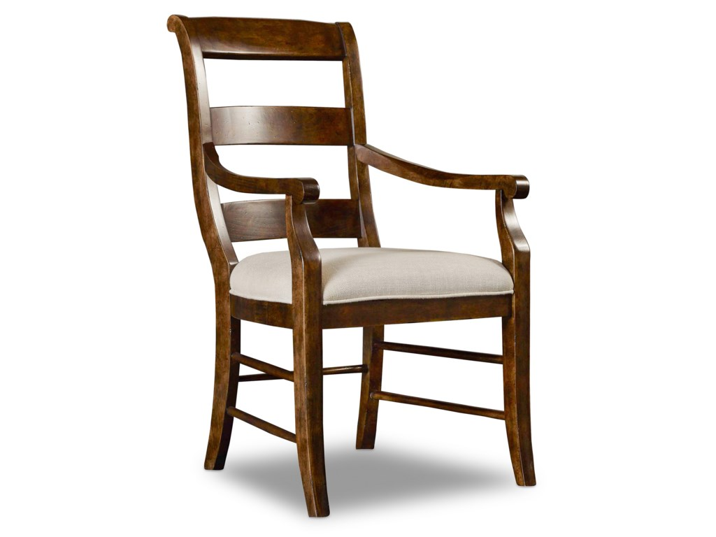 Hooker Furniture ArchivistLadderback Arm Chair