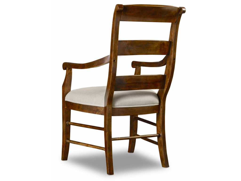 Hooker Furniture ArchivistLadderback Arm Chair