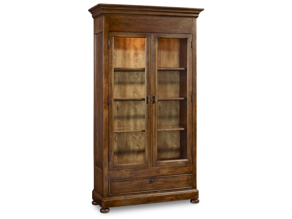 Hooker Furniture ArchivistDisplay Cabinet