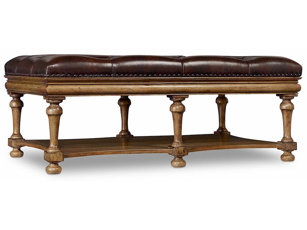 Hooker Furniture ArchivistAccent Ottoman Cocktail