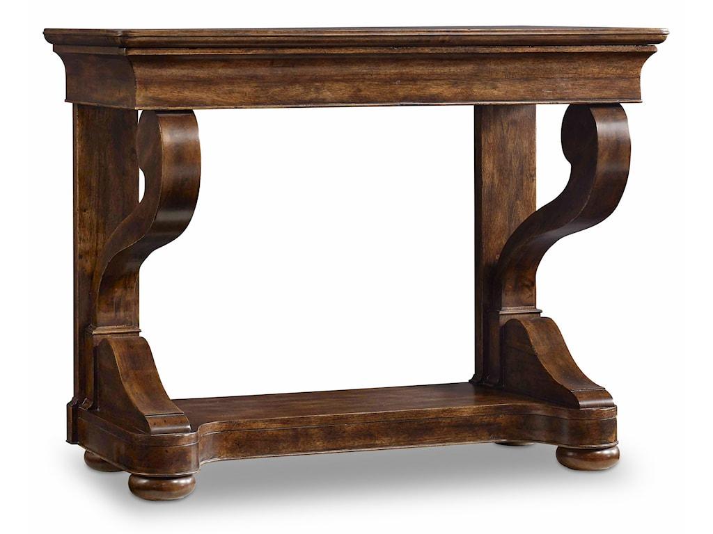 Hooker Furniture ArchivistScroll Leg Consulate Table