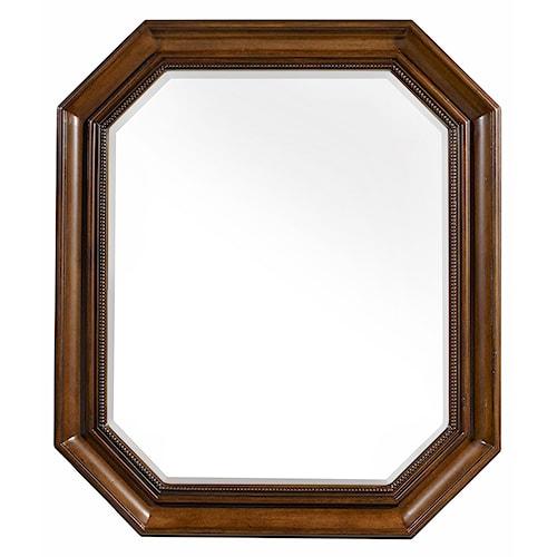 Hooker Furniture Archivist Octagonal Portrait Mirror