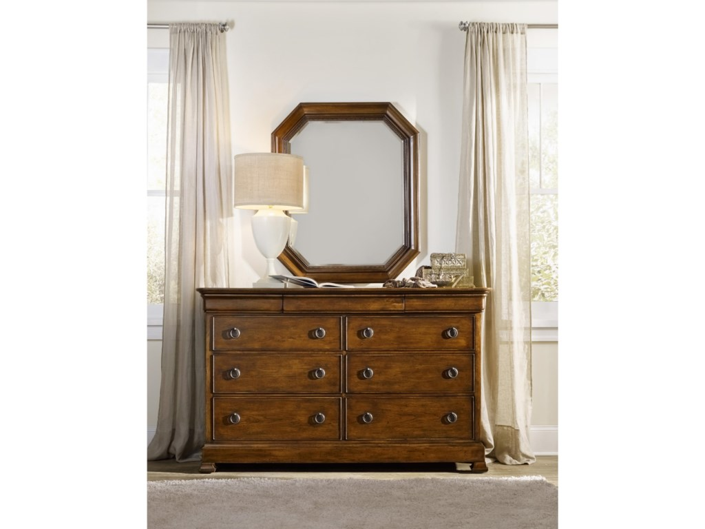 Hooker Furniture ArchivistPortrait Mirror