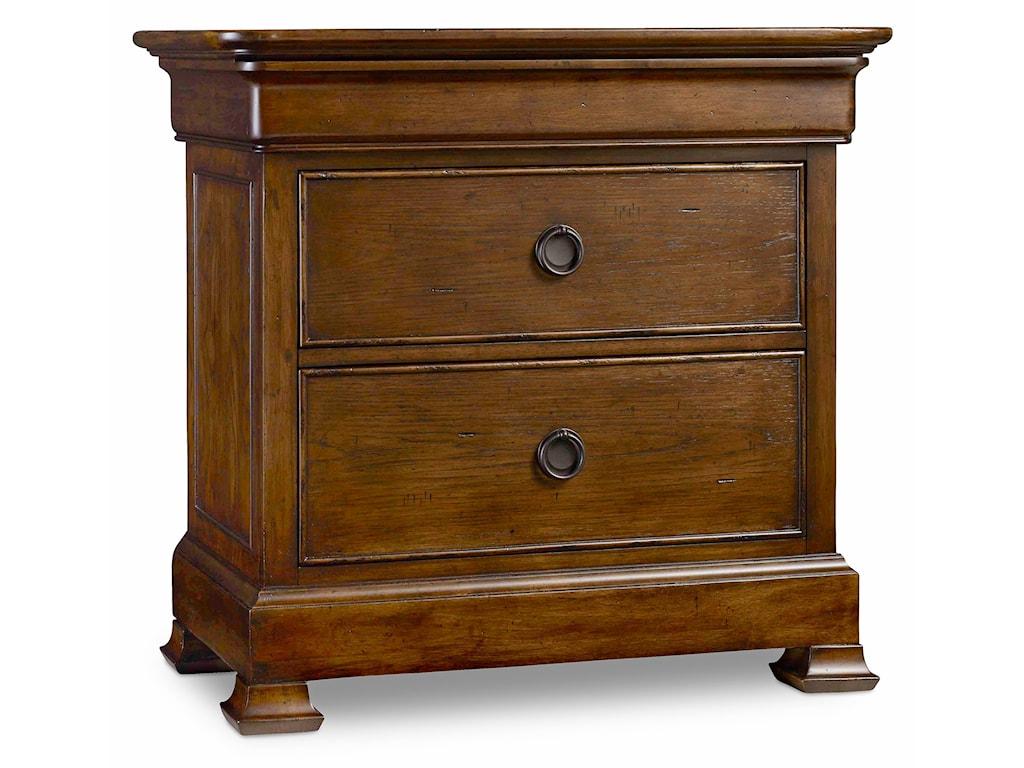 Hooker Furniture ArchivistThree-Drawer Nightstand