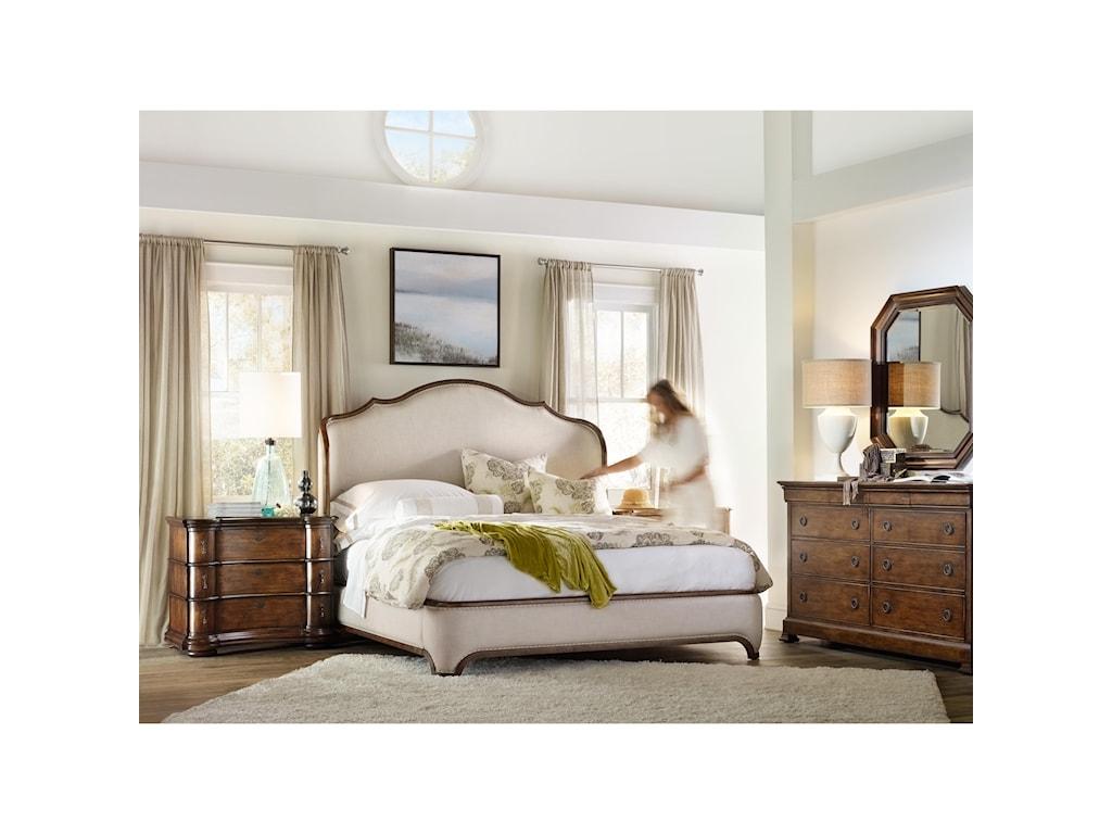 Hooker Furniture ArchivistCalifornia King Upholstered Bed