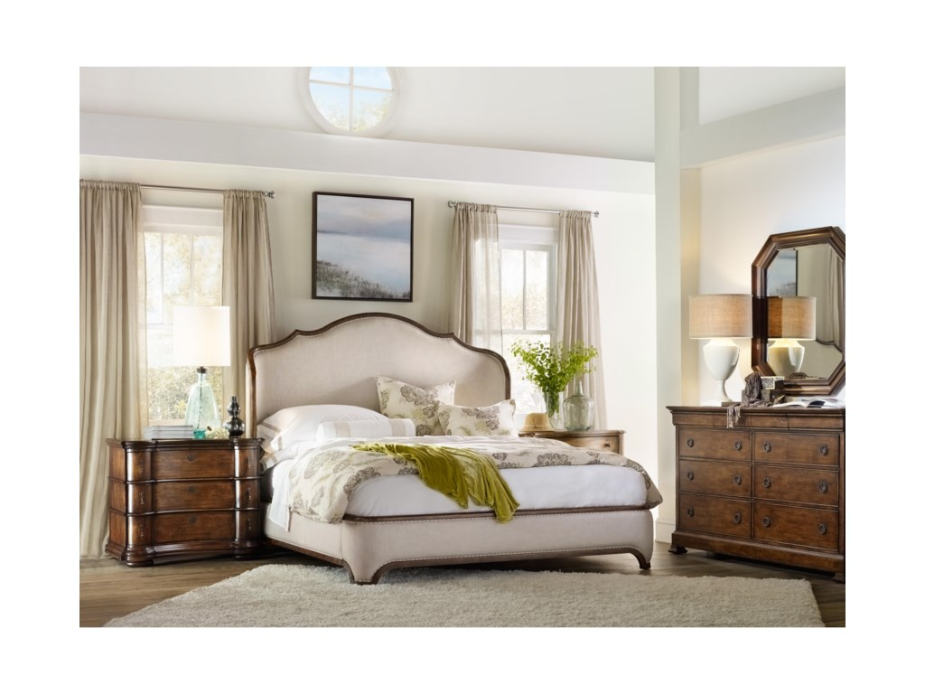 Hooker Furniture ArchivistCalifornia King Upholstered Bed