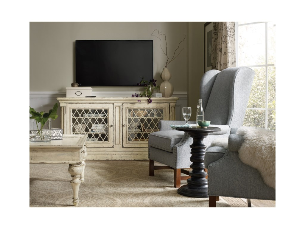 Hooker Furniture Auberose72in Entertainment Console