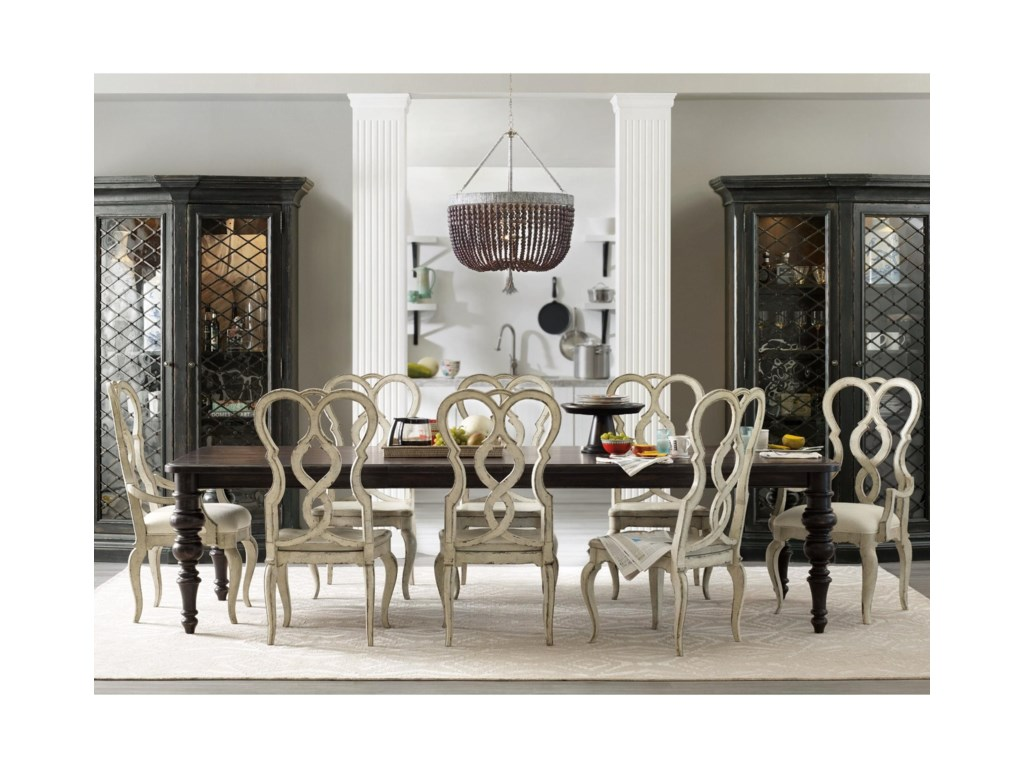 Hooker Furniture Auberose9 Piece Dining Set