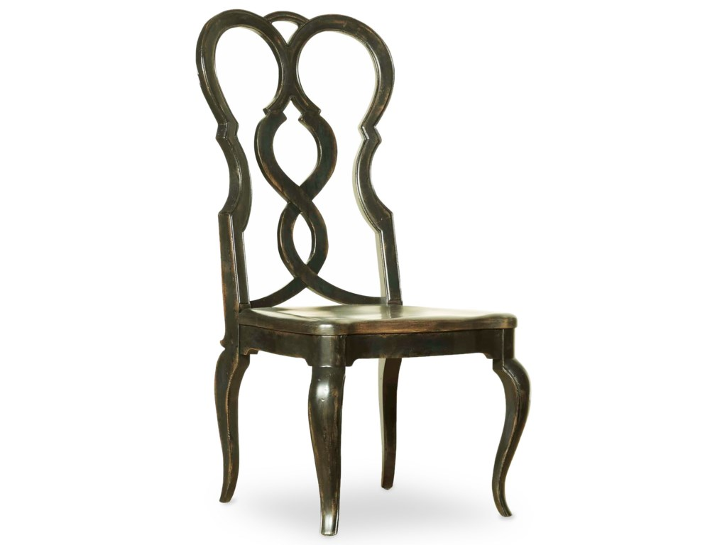 Hooker Furniture AuberoseSplatback Wood Seat Side Chair