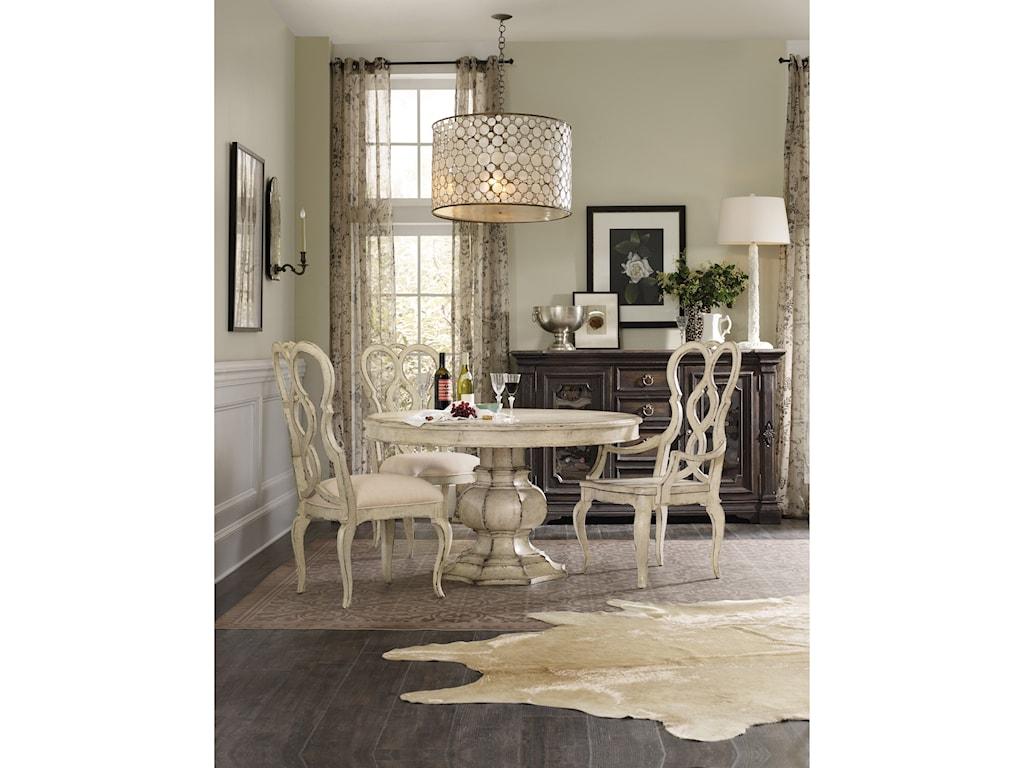 Hooker Furniture AuberoseUpholstered Splatback Side Chair