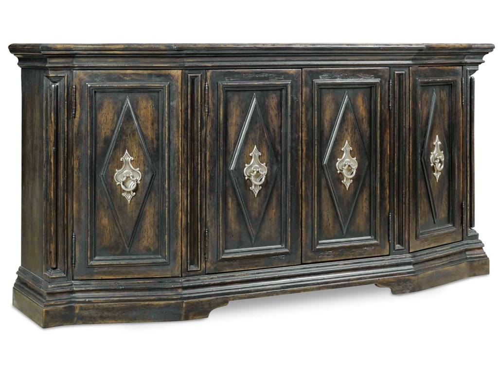 Hooker Furniture AuberoseFour-Door Credenza