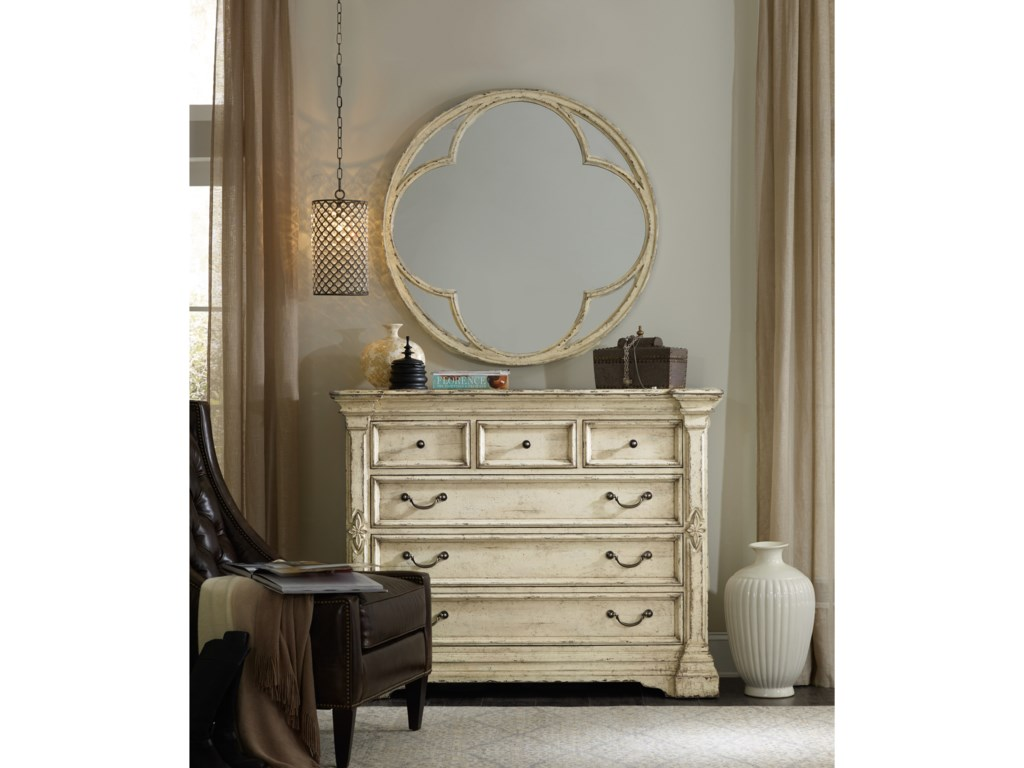 Hooker Furniture AuberoseRound Mirror