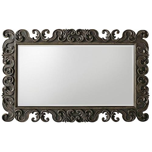 Hooker Furniture Auberose Decorative Landscape Mirror