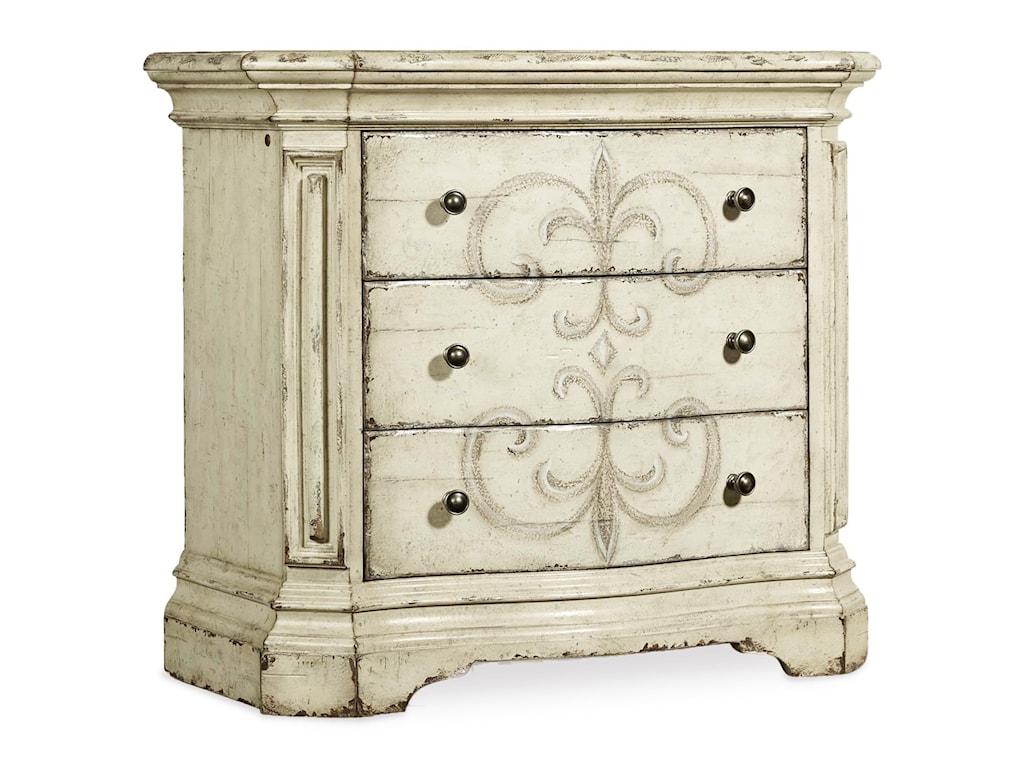 Hooker Furniture AuberoseThree-Drawer Nightstand